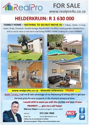 2. HELDERKRUIN FAM HOME